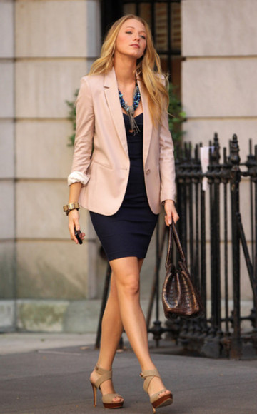 gossip girl blake lively jacket