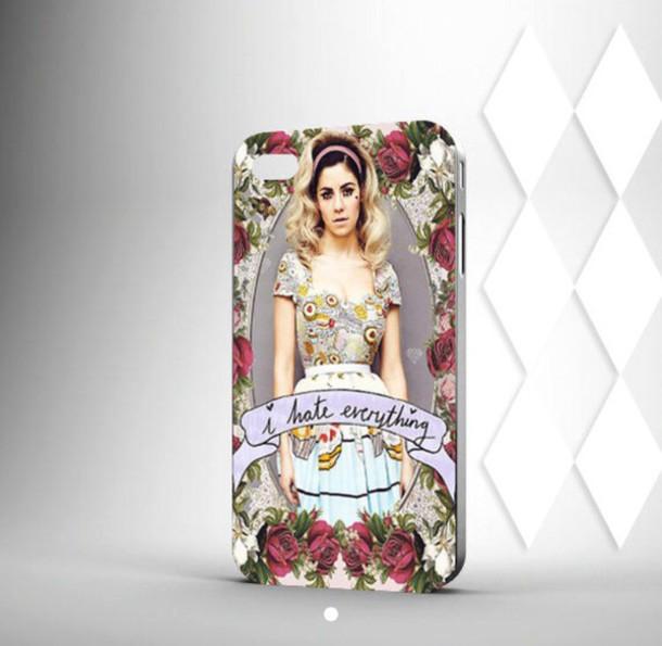 phone cover marina and the diamonds
