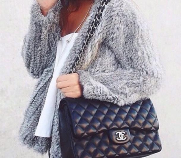 cardigan grey fleecy winter coat winter jacket