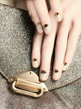 nail accessories nail art gold nails white nails