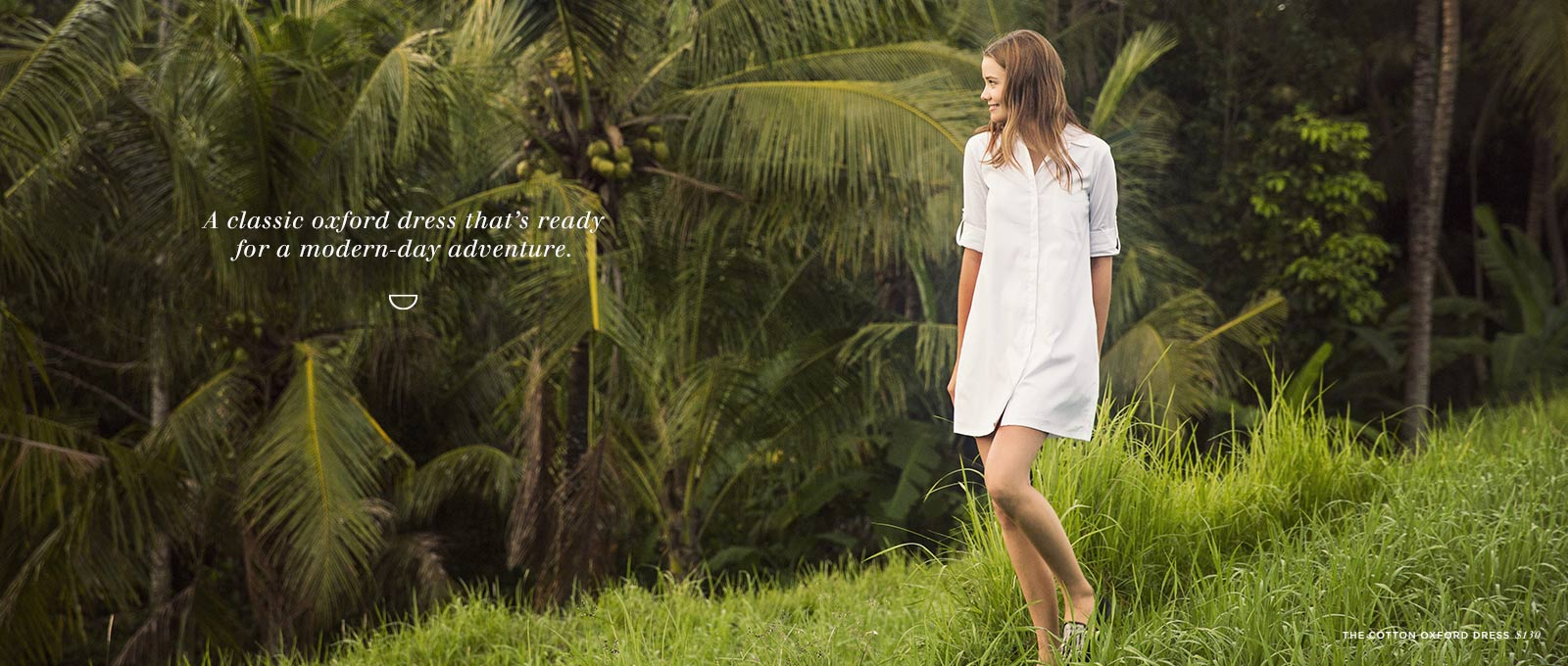 100% Cotton Oxford Dress | Cuyana Shop