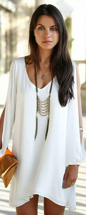 dress white dress 279792 mini dress bohemian dress boho black dress lace backless chiffon flowy hippie jewels jewelry necklaces summer dress cut-out blouse jelwery shift dress cotton loose beach bag necklace long feathers boho necklace bohemian necklace gypsy chain women boho dress where can i get this necklace boho jewelry aztec style necklace indie boho white home accessory long sleeve dress