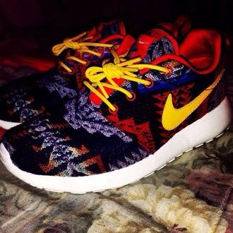 nike shoes tribal pattern