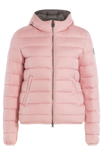 jacket down jacket quilted rose