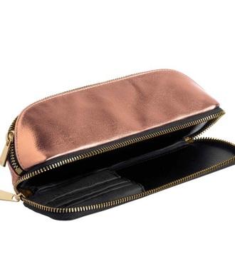 bag makeup pouch makeup bag rose gold pencil case school supplies back to school