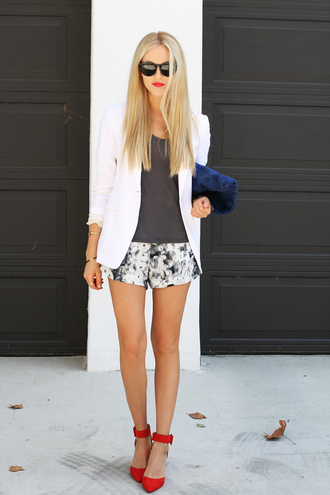 bag shirt jewels jacket shoes shorts sunglasses cheyenne meets chanel