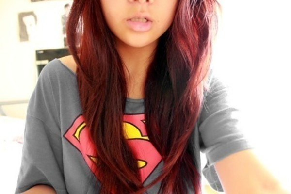 shirt superman t-shirt swag tumblr girl
