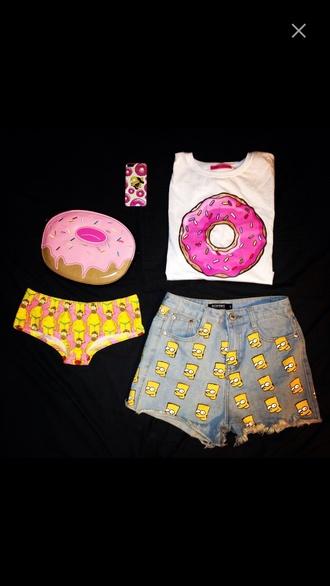 colorful panties cool tumblr shirt