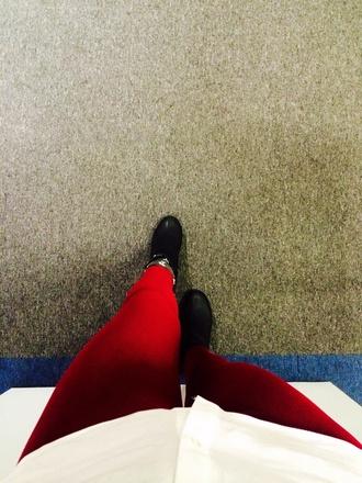 leggings burgundy leggings skinny