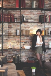 le monde de tokyobanhbao,skirt,jewels,jacket,make-up,tights,shoes