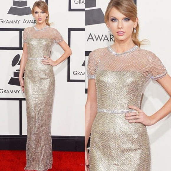 dress taylor swift prom dress sparkly dress similar dress similar celebrity celeb metal mesh dress metal silver diamonds glitter sparkly maxi dress silver dress mesh dress mesh
