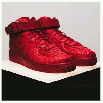 shoes red red shoes snake print snake skin print shoes sneakers snake leather