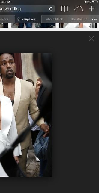 kanye west groom menswear mens jacket