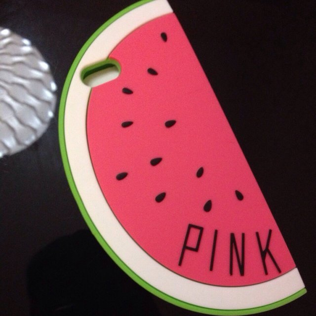 Watermelon pink iphone 5 5s case