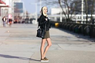 meri wild blogger black jacket