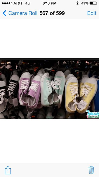 shoes pastel chuck taylor all stars
