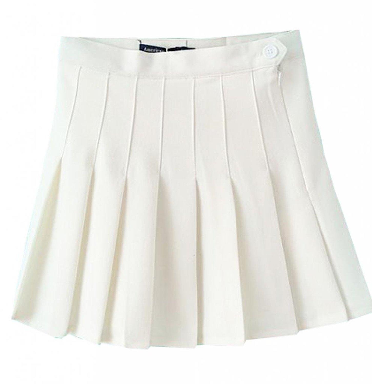 promithi high waist pleated mini skirt plus size at