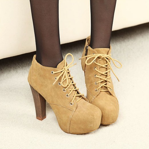 sexy lace up partyschuhe abendschuhe high heels pumps. Black Bedroom Furniture Sets. Home Design Ideas
