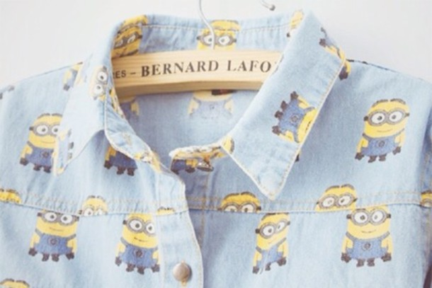 blouse minions