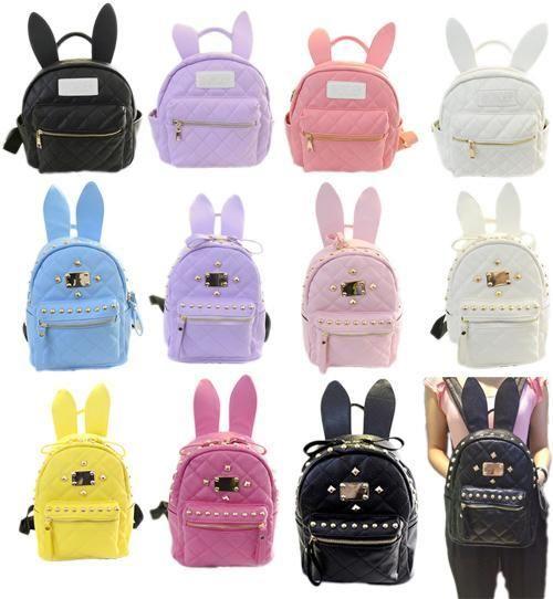 be479c759771 BUNNY EARS backpack wonderland rabbit pastel cute kawaii ...
