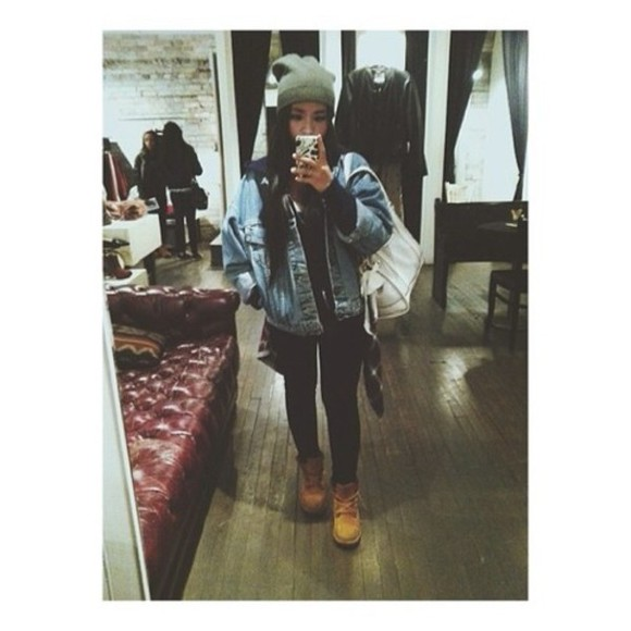 jacket oversized denim