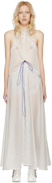 Ovelia Transtoto Transparent Pact Dress