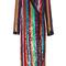 Grace sequined wrap dress   moda operandi