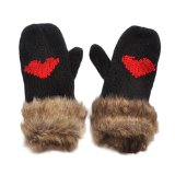 Amazon.com: heart mittens