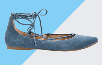 shoes suede shoes flats strappy flats lace-up shoes