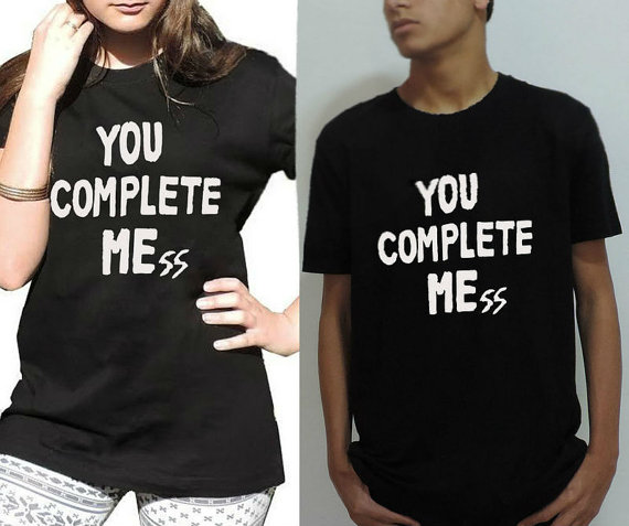 You complete mess shirt celebrity inspired luke by favoritee