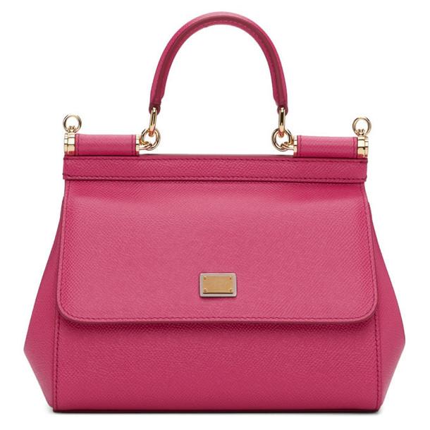 43ea3be6fa Dolce and Gabbana Dolce and Gabbana Dolce   Gabbana Pink Small Miss Sicily  Bag
