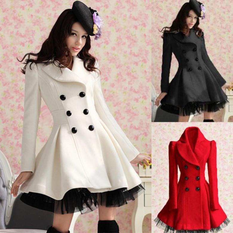 Long Winter Dress Coat from Whitelily Fashion on Storenvy