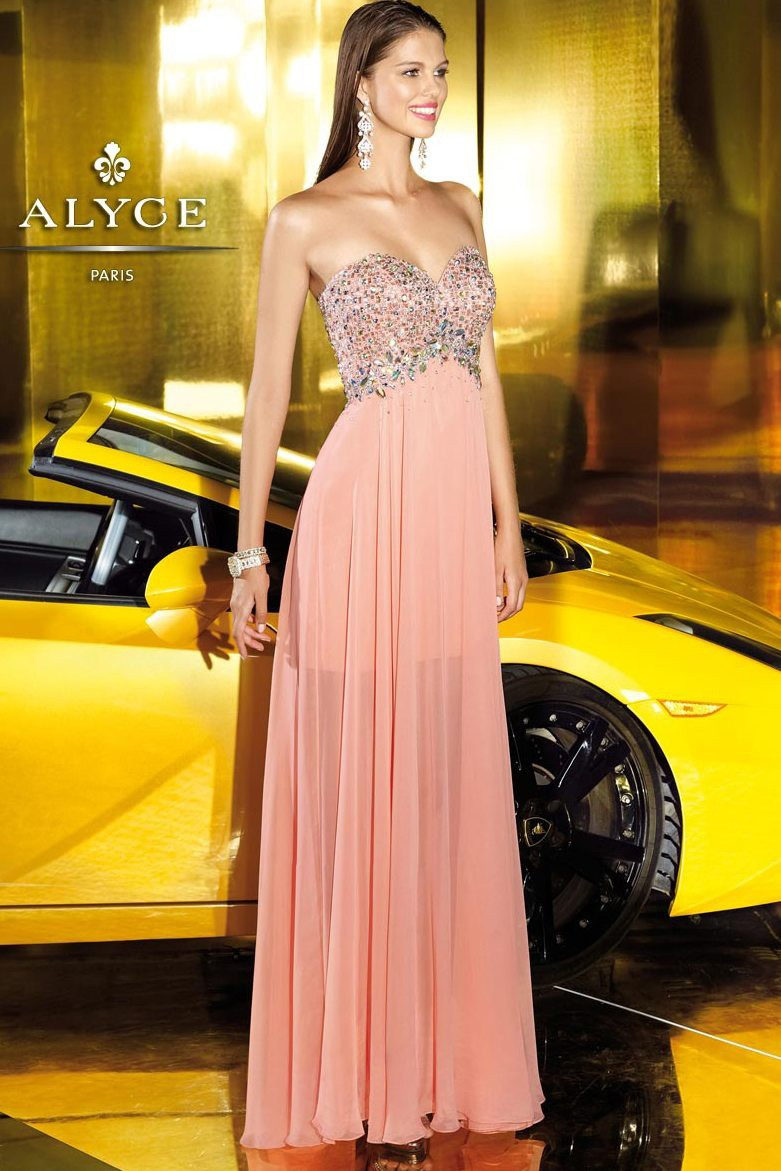 Alyce Prom Dress Sequins
