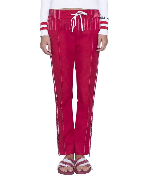 Valentino pants track pants embroidered