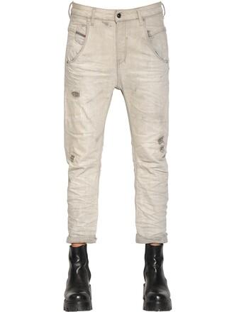 jeans denim cotton grey