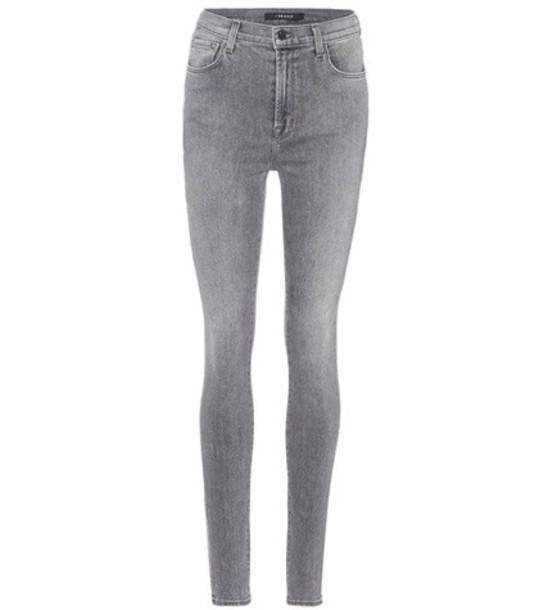 J BRAND jeans skinny jeans high grey