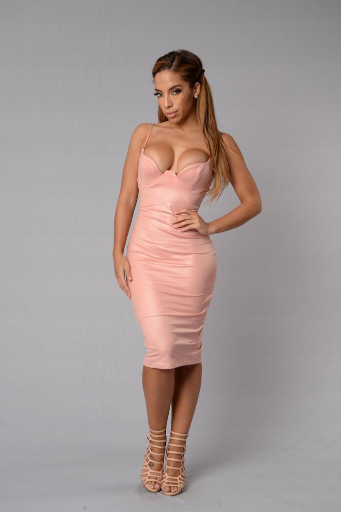c63090b8cef06 Rita Dress - Blush | Fashion Nova