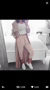 pants,creme/beige,rose