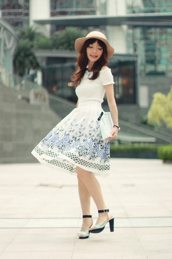 mochaccinoland top skirt jewels bag