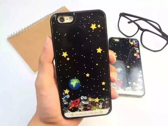 phone cover fashion style galaxy print iphone case black cool stars sky cute teenagers