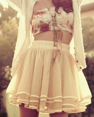 skirt girly things skater skirt