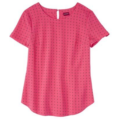 Merona® Women's Scoop Neck Chiffon Blouse - ... : Target