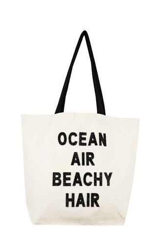 bag black fallon and royce tote bag white bikiniluxe