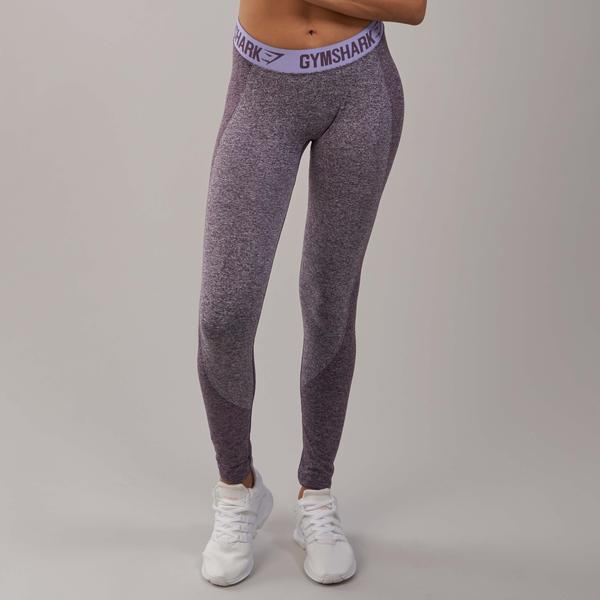 cb2385cafffd0 Gymshark Flex Leggings - Purple Wash Marl/Pastel Lilac