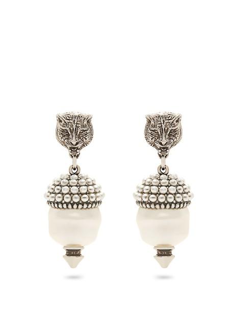 gucci pearl earrings jewels