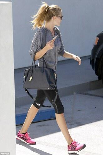 sportswear sweatshirt rosie huntington-whiteley sneakers