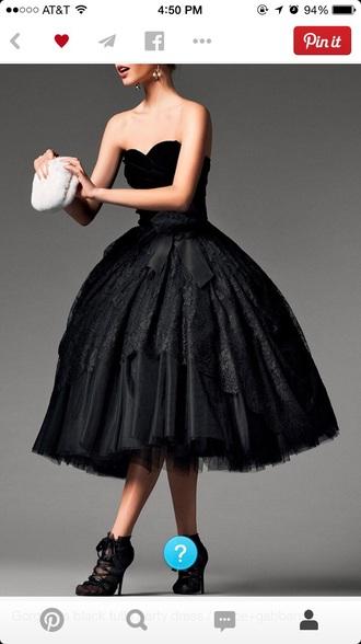dress tulle skirt long