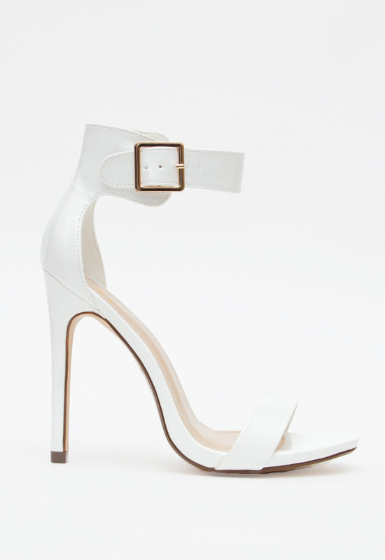 Eberly Heels - White