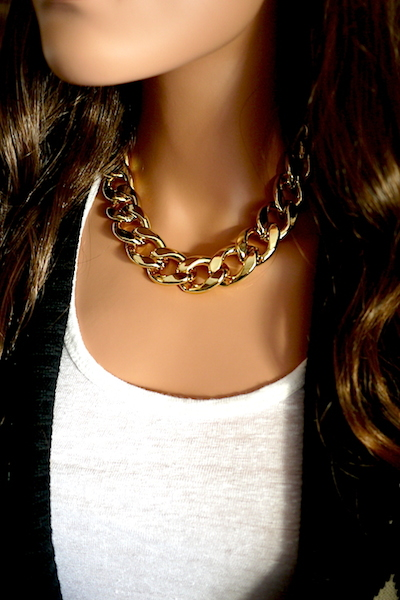 Chain Chunky Necklaces  - Juicy Wardrobe
