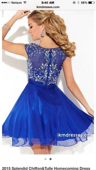 dress blue homecoming